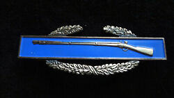 Wwii Sterling Silver 3 Cib Combat Infantry Badge W Sterling Silver Grommets