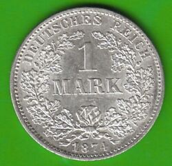 Empire 1 Mark 1874 F Better Than Xf Very Nice Nswleipzig