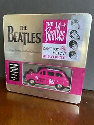 The Beatles Canand039t Buy Me Love Die-cast Collectible Taxi Plaque T-shirt Tin Set