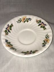 Aynsley Cottage Garden 5.5 Saucer Set Of 1 Fine English China Replacement