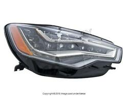Audi A6 A6 Quattro 2012-2013 Headlight Assembly Led Right / Pass. Side Oem