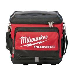 Milwaukee Packout 15.75 inch Cooler Bag Portable Padded Strap Shoulder Heavy New $105.90