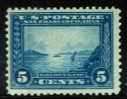 [ma1] Us 399 Mint-nh 1913 Perf 12 And039panama-pacificand039 Exposition Issue..