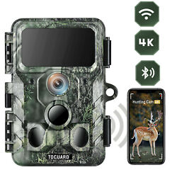 4k Native Wildlife Hunting Camera 30mp Wifi Bluetooth Trail Game Cam Scouting Us