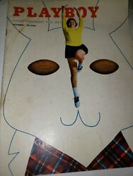 October 1954 Playboy Magazine--collector Quality