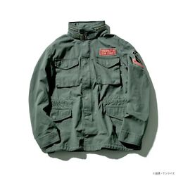 Strict-g Alpha Industries M-65 Field Jacket Mobile Suit Gundam Theon Outer 4s186