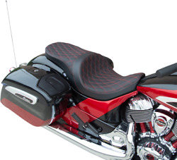 Drag Specialties Forward Positioned Low Profile Touring Seat 0810-2276