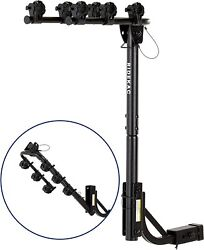 Kac S3 1.25 And 2 Hitch Receiver 3-bike Capacity Hanging Bicycle Carrier -...