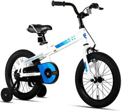 Joystar Whizz Kids Bike With Training Wheels For Ages 2-9 16 Inch White