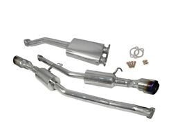Injen 10-13 For Hyundai Genesis Coupe 2.0lt 4cyl Ss Exhaust W/ 76mm Y-pipe ...
