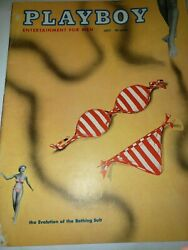 July1954 Playboy Magazine--collector Quality