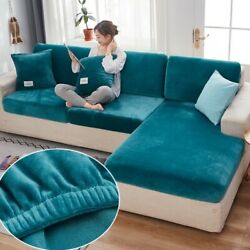 Velvet Sofa Seat Cover Cushion Cover Thick sofa Slipcovers Funiture Protector