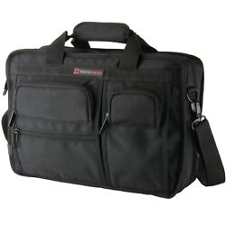 Alpine Swiss Conrad Messenger Bag 15.6 Inch Laptop Briefcase with Tablet Sleeve $39.99