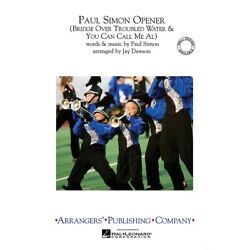 Paul Simon Opener Marching Band Level 2.5 By Paul Simon Score And Parts