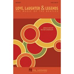 Love Laughter And Legends The Music Of The Beatles Showtrax Cd By Roger Emerson