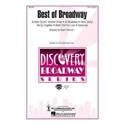 Hal Leonard Best Of Broadway Medley Showtrax Cd Arranged By Roger Emerson