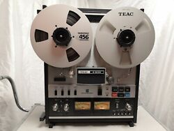 Teac A-6100 Reel-to-reel Tape Recorder With Original Travel Case