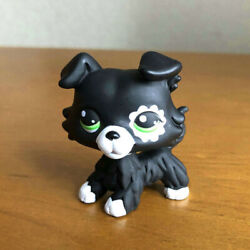 Rare LPS Toys Custom OOAK Black Collie Puppy Dog Collection Figure