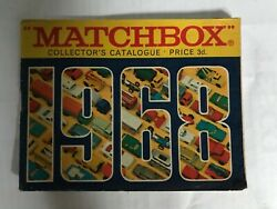 Matchbox Toys Catalogue 1968 - 40 Pages Inc. Price List.