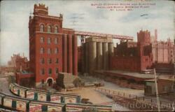 1912 St. Louismo Barley Cleaning House And Elevators Anheuser-busch Brewing Pla