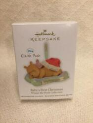 Hallmark Ornament Baby#x27;s First Christmas Winnie the Pooh Collection 2011