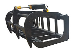 New Usa 484and039 Skid Steer Loadercompact Tractor Light Weight Grapple Root Rake