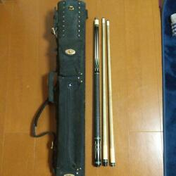 Dale Perry And Spare Shafts Cue Cases 4t309