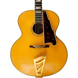 D'angelico Ex-63 Archtop Acoustic Guitar 190839796622 Ob