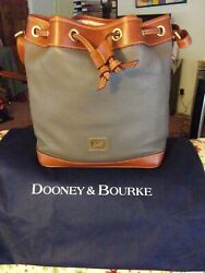 dooney and bourke drawstring bucket leather $145.00