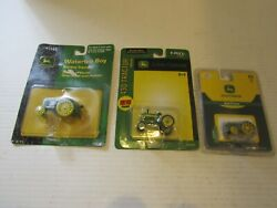 Ertl John Deere Toy Farm Tractor 164 Scale 3 Pieces Model D Water Loo And 430