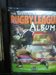 2002 Rugby League Album - Complete With Cards