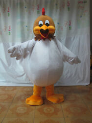 Christmas Big Mouth Rooster Long Plush Mascot Costume Cosplay Clothing Adult New