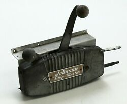 Johnson Evinrude Ship Master Side Mount Control Box Only For Parts