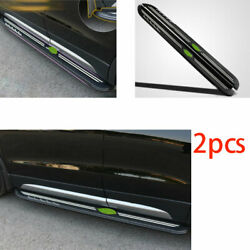 For Cadillac Xt4 2018-2021 Aluminum Alloy Running Board Side Step Nerf Bar Pedal
