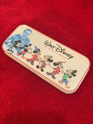 Mickey Mouse Fossil Wrist Watch Tin Box Nrfb