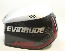 285778 Evinrude 2012 And Up Etec H.o. 90° Hood Top Cowl Cover 200 225 250 300 Hp