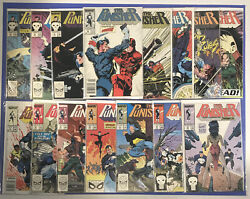 The Punisher Comic Lot 7-11 13 14 16-18 20 22-25 1987-89 15 Issues Marvel