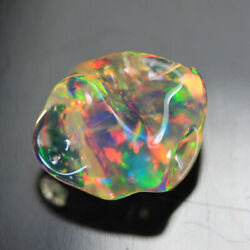 Fabulous Multi Color Mexican Jelly Opal From Direct Source 5.29ct