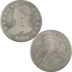 1821 Capped Bust Quarter G Good 89.24 Silver 25c Us Type Coin Collectible