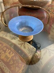 Beautiful Antique Favrile 516 Basket With Glass Dish And Free Shipping