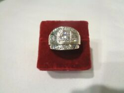 14kt White Gold Menand039s 13 Brilliant Cut Excellent Diamonds 1.87ct Ring Appraisal