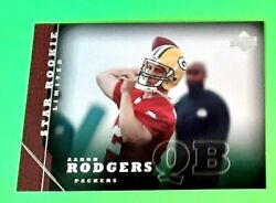2005 Upper Deck Star Rookie Rc Limited Aaron Rodgers Mt Centered High Grade 202
