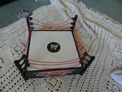 Wwe Raw Wrestling Ring Used Red Ropes
