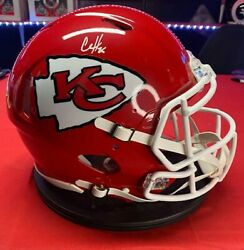 Clyde Edwards-helaire Kansas City Chiefs Signed Riddell Speed Authentic Helmet