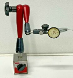 Spi 98-363-5 Flexible Indicator Transfer Stand W/magnetic Base 65a