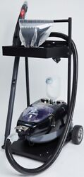 New Us Steam Seahawk Residential Steam Vacuum Cleaner With Cart And Attachments