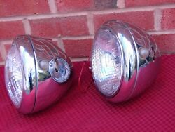 Vintage Blc B-l-c Guide Headlights With Marker Or Turn Signals Lights 904 A