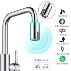 Smart Touchless Automatic Sink Faucet Adapter Motion Sensor For Kitchen Bathroom