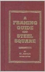 Framing Guide And Steel Square Sigmon, D. L.