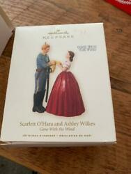 Hallmark Ornament Scarlett Oand039hara And Ashley Wilkes Gone With The Wind 2008